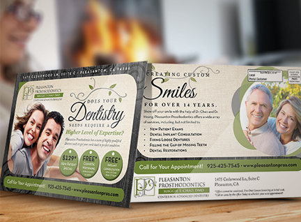 every door direct mail postcard printing