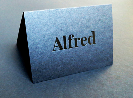Foldover Business Card